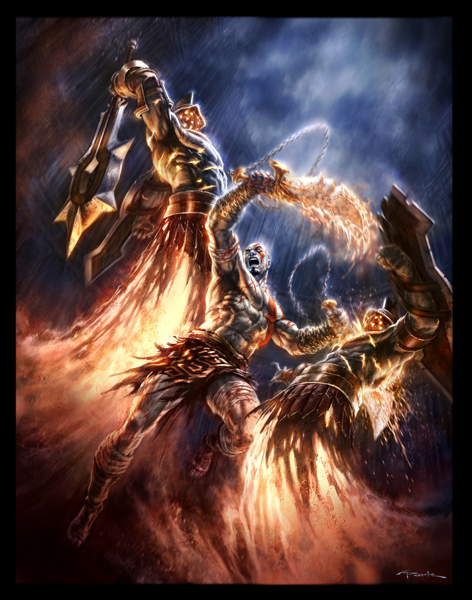God Of War Psp : Rpg no monogatari aventuras god of war skyrim e
